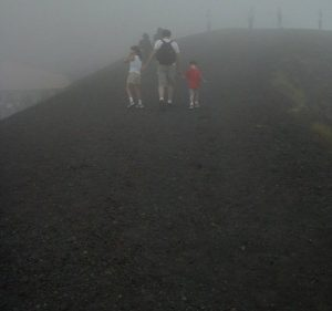 Mt Etna G and D and fog